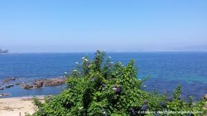 El mar desde la isla de Ons