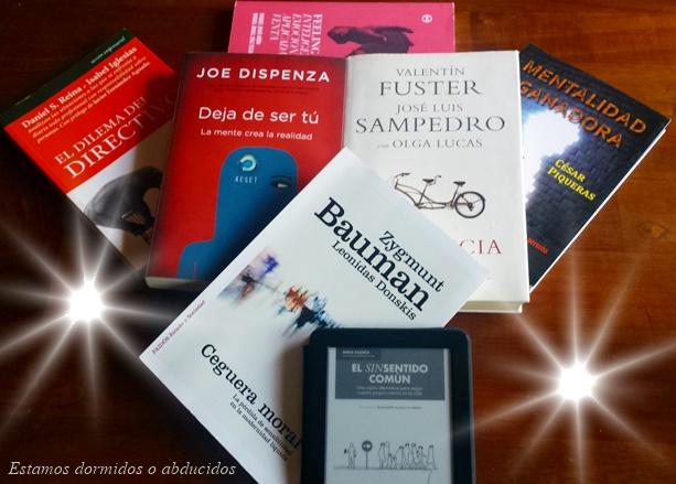 15 Libros recomendados Estamos dormidos o abducidos