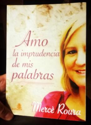 Libro. Amo la imprudencia de mis palabras